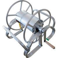昭和ブリッジ販売 アルミ製ホース巻取機 MA-6B 1台 241-1466 (直送品)
