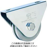 丸喜金属本社 オールステンレス枠付重量車 90mm コ型 S-3650-90 1個 356-1411 (直送品)