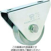 丸喜金属本社 MK オールステンレス枠付重量車 110mm 平型 S3750110 1個 356ー1429 (直送品)