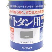 カンペハピオ ALESCO カンペ 油性トタン用3Lグレー 1305093 1缶 361ー0713 (直送品)