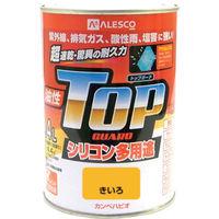カンペハピオ(Kanpe Hapio) ALESCO カンペ 油性トップガード0.4Lきいろ 119-0554 1缶 365-2076 (直送品)