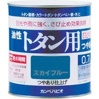 カンペハピオ ALESCO カンペ 油性トタン用0.7Lグレー 1305090.7 1缶 361ー0705 (直送品)