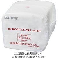クラレリビング(kuraray) クリーンワイパー SF-30C SF-30C 1ケース(3000枚) 518-6846 (直送品)