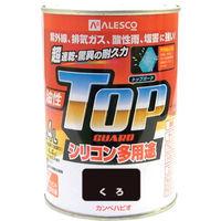 カンペハピオ(Kanpe Hapio) ALESCO カンペ 油性トップガード0.4Lくろ 119-0024 1缶 365-2017 (直送品)