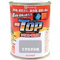カンペハピオ ALESCO カンペ油性トップガード1.6Lうすねずみ色 1190171 1缶 365ー2025 (直送品)
