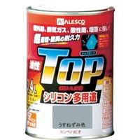 カンペハピオ(Kanpe Hapio) ALESCO カンペ 油性トップガード0.4Lうすねずみ色 119-0174 1缶 365-2033 (直送品)