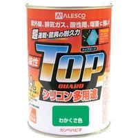 カンペハピオ(Kanpe Hapio) ALESCO カンペ 油性トップガード0.4Lわかくさ色 119-0184 1缶 365-2050 (直送品)