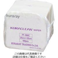 クラレリビング(kuraray) クリーンワイパー 25cm×25cm FF-390C 1ケース(3000枚) 518-6838 (直送品)