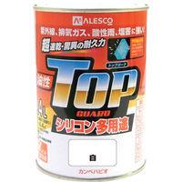 カンペハピオ(Kanpe Hapio) ALESCO カンペ 油性トップガード0.4L白 119-0014 1缶 365-1991 (直送品)