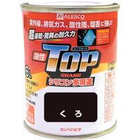 カンペハピオ(Kanpe Hapio) ALESCO カンペ 油性トップガード1.6Lくろ 119-0021 1缶 365-2009 (直送品)