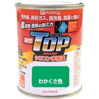 カンペハピオ(Kanpe Hapio) ALESCO カンペ 油性トップガード1.6Lわかくさ色 119-0181 1缶 365-2041 (直送品)
