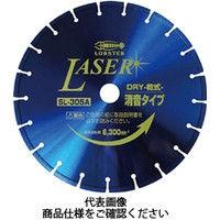 ロブテックス エビ ダイヤモンドホイール NEWレザー(乾式) 305mm SL305A20 1枚 372ー6061 (直送品)