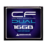 グリーンハウス UDMA対応233倍速コンパクトフラッシュ16GB GH-CF16GD (取寄品)