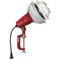 畑屋製作所 ハタヤ 防雨型作業灯 リフレクターランプ500W 100V電線0.3m バイス付 RC-500 1台 370-4106 (直送品)