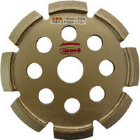 ロブテックス(LOBTEX) エビ ダイヤモンドホイール Vカッター 108mm V105 1枚 372-6568 (直送品)