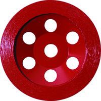 ロブテックス エビ ダイヤモンドカップホイール オフセットタイプ CO4 1枚 372ー0829 (直送品)