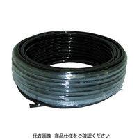 妙徳 CONVUM チューブ 10MMX6.5MM20M 黒色 WU10065BK 1巻 363ー8472 (直送品)