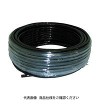 妙徳 チューブ 12MMX8.0MM 20M 黒色 WU-12080-BK 1巻 363-8481 (直送品)