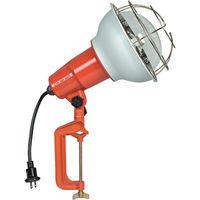 畑屋製作所 防雨型作業灯 リフレクターランプ500W 100V電線0.3m バイス付 RE-500 1個 106-1968 (直送品)