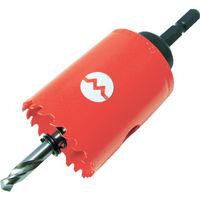 大見工業 大見 ツバ無ロングFCLホールカッター 28mm FCL28 1本 361ー7220 (直送品)