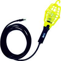 ハタヤリミテッド ハタヤ 補助コードランプ 60W耐震電球付 電線5m ランプガード黄 ILI5Y 1台 370ー3509 (直送品)