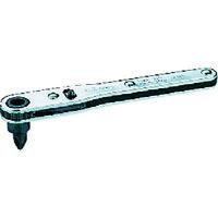 京都機械工具 板ラチェット差替えドライバNo.2 RM22 1セット 373-7501 (直送品)