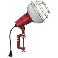 ハタヤリミテッド ハタヤ 防雨型作業灯 リフレクターランプ300W 100V電線0.3m バイス付 RC300 1台 370ー4076 (直送品)