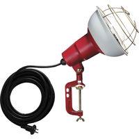 ハタヤリミテッド ハタヤ 防雨型作業灯 リフレクターランプ300W 100V電線5m バイス付 RC305 1台 370ー4084 (直送品)