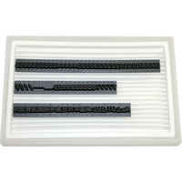 ユニオンコーポレーション マーキングマン差替式ゴム印ユニラバーFー4(4mm)数字・漢字セット 1740071 1個 323ー0708 (直送品)