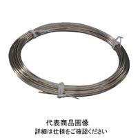 トラスコ中山 TRUSCO ステンレス針金 小巻タイプ 0.3mmX15m TSWS03 1セット(1巻入) 359ー9671