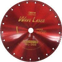 ロブテックス エビ ダイヤモンドホイール ウェブレーザー(乾式) 304mm穴径22mm WL30522 1枚 124ー5104 (直送品)