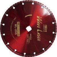 ロブテックス エビ ダイヤモンドホイール ウェブレーザー(乾式) 260mm穴径22mm WL25522 1枚 124ー5066 (直送品)