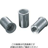 ロブテックス(LOBTEX) パック入りナット(25本入) Kタイプ アルミニウム 8-3.2 NAK8P 1パック(25本) 356-9012 (直送品)