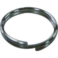ニッサチェイン(NISSA CHAIN) ニッケルWリング 1.2X10mm (40個入) P-815 1パック(40個) 360-4047 (直送品)