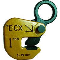 日本クランプ 日本クランプ 横つり専用クランプ 1.0t ECX1 1台 107ー2013 (直送品)