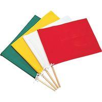日本緑十字社 手旗 黄 300×420mm 布 245003 1本 371ー9651 (直送品)