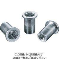 ロブテックス(LOBTEX) ナット Dタイプ アルミニウム 8-3.2 (1000個入) NAD-8M 1箱(1000本) 126-0138 (直送品)