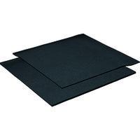 イノアックリビング 発泡ウレタンシート 吸音性シート 黒10×1000×1000 F210 1枚 219ー2152 (直送品)
