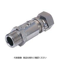 島田電機 島田ダイキャスト耐圧防爆構造パッキン式ケーブルグランド SBM28B 1個 281ー3513 (直送品)