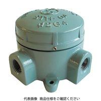 島田電機 アルミニウム合金鋳物 耐圧防爆構造ターミナルボックス(四方向) STH-04X-22 1個 281-3106 (直送品)