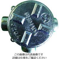 島田電機 鋳鉄 耐圧防爆構造ジャンクションボックス SGT-28 1個 281-3165 (直送品)