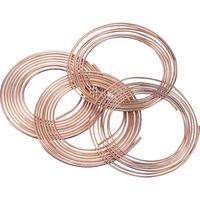 UACJ SUMITOMO 空調冷媒用軟質銅管10mコイル NDK-0808-10 1本 220-7915 (直送品)