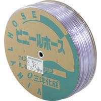 三洋化成 サンヨー 透明ホース8×10 100mドラム巻 TM810D100T 1巻 147ー7544 (直送品)