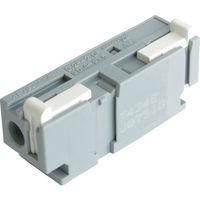 サトーパーツ 連結可能型スクリューレス端子台 ML-7000 白 ML-7000-W 1個 309-9105 (直送品)