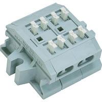 サトーパーツ サトーパーツ スクリューレス端子台 ML1700B2P 1個 292ー7829 (直送品)