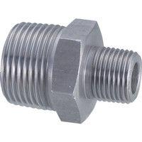 フジトク 径違い6角ニップル 6N-PT-40AX25A 1個 228-9997 (直送品)