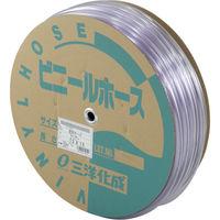 三洋化成 サンヨー 透明ホース12×15 50mドラム巻 TM1215D50T 1巻 147ー7579 (直送品)