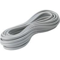 正和電工 VCTFK小判(平型)ビニールキャブタイヤコード 10m FK-10BS 1本 251-8261 (直送品)