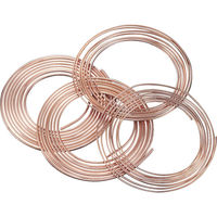 住友軽金属工業 SUMITOMO 空調冷媒用軟質銅管10mコイル NDK101210 1本 220ー7940 (直送品)