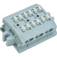 サトーパーツ サトーパーツ スクリューレス端子台 ML1700B3P 1個 292ー7837 (直送品)
